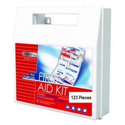 AidPlus FA-131 First Aid Kit, 25 Person [123 Pieces]