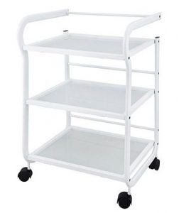 MOVING MEDICAL TROLLEY