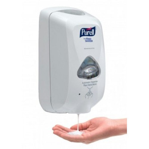 PURELL Hand Sanitizer Dispenser TFX Touch Free, Dove Gray