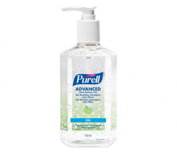 PURELL Advanced Instant Hand Sanitizer - 354ml (Fragrance Free)
