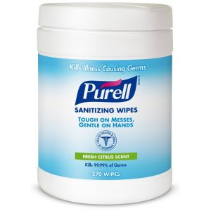 Purell® 9113-06 270 Count Hand Sanitizing Wipes