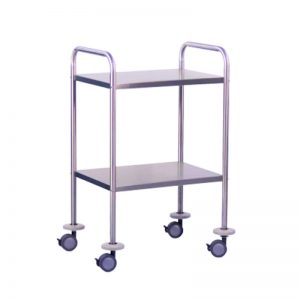 2 Shelve Dressing /Instrument Trolley