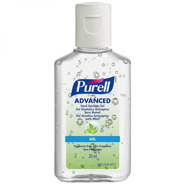 Purell Advanced Hand Sanitizer Plastic Squeeze Bottle (30 ml)