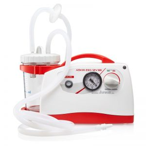 Surgical Suction Askir 230 with battery back up 12V