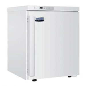 Haier HYC-68 Under bench pharmacy fridge, temperature range 2 Degree C to 8 Degree C, solid door, 68 L