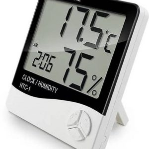 Plastic Hygrometer Room Temperature and Humidity Thermometer
