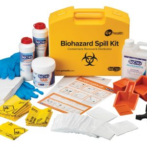 Biohazard Spill Kit (Multi / 25 Spills)
