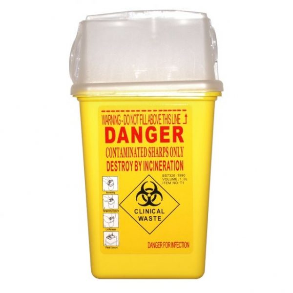 Sharp Container 1L