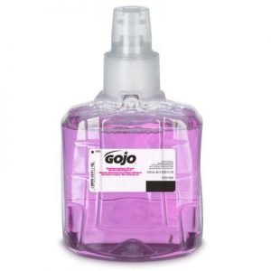 GOJO® LTX Antibacterial Soap Foaming 1,200 mL Refill Bottle Plum Scent ( GOJO LTX DISPENSER SOLD SEPARATELY )
