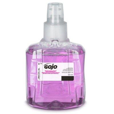 GOJO® LTX Antibacterial Soap Foaming 1,200 mL Refill Bottle Plum Scent ( GOJO LTX DISPENSER SOLD SEPARATELY )