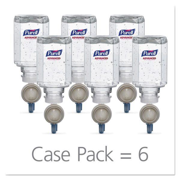 Purell ES™ Everywhere System Advanced Instant Hand Sanitizer Gel Refill 450mL, 6/Case