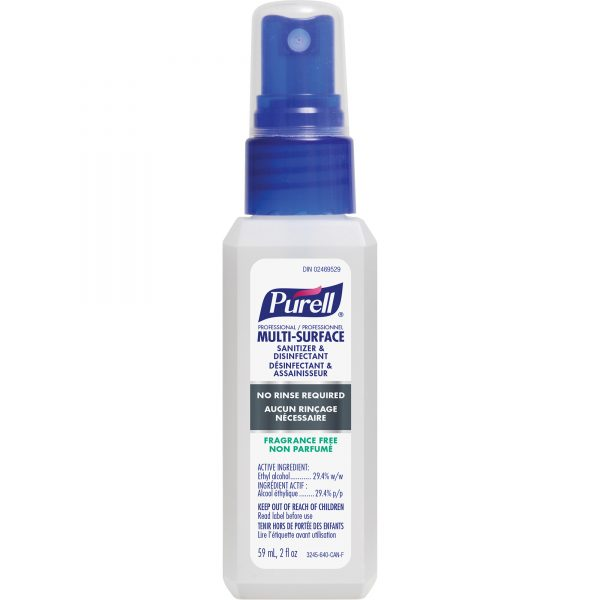 PURELL Professional Multi-Surface Sanitizer & Disinfectant 59ml