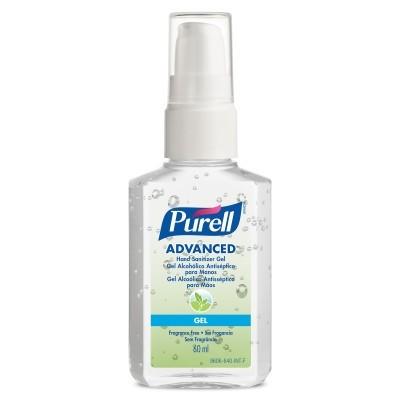 Purell Advanced Hand Sanitizer Gel 60ml, Portable Pump Bottle