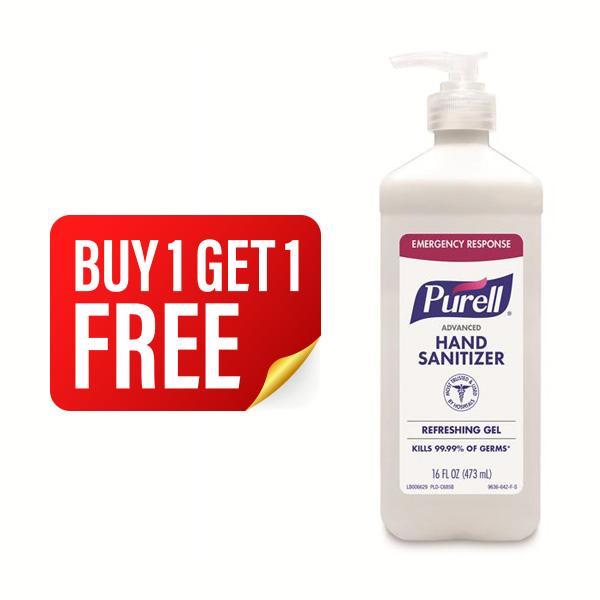 PURELL ADVANCED HAND SANITIZER PUMP BOTTLE 473ML - BUY 1 GET 1 FREE