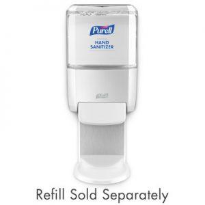 PURELL® ES4 Hand Sanitizer Dispenser White Push-Style Dispenser for PURELL® ES4 1200 mL Hand Sanitizer Refills