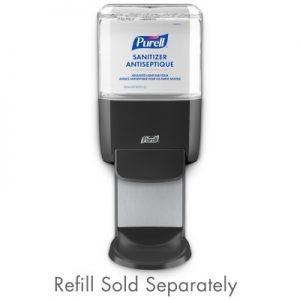 PURELL® ES4 Hand Sanitizer Dispenser Graphite Push-Style Dispenser for PURELL® ES4 1200 mL Hand Sanitizer Refills