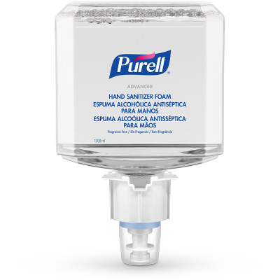 PURELL® Advanced Hand Sanitizer Foam 1200 mL Refill for PURELL® ES4 Push-Style Hand Sanitizer Dispensers