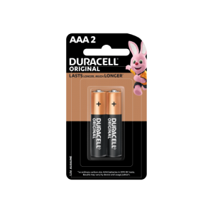 Duracell AAA Batteries 2 COUNT