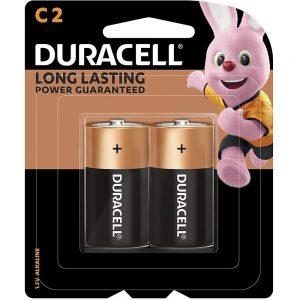DURACELL C2 2 MONET BATTERIES